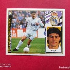 Cromos de Fútbol: CROMOS EDICIONES ESTE 97 98 1997 1998 CROMO NUNCA PEGADO FICHAJE Nº 6 DANI REAL MADRID. Lote 254801140