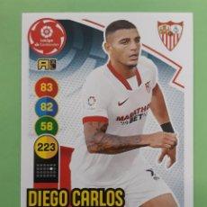 Cromos de Fútbol: 294 DIEGO CARLOS. SEVILLA F.C. ADRENALYN 2020-21. Lote 254801170