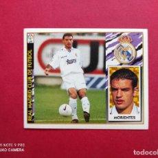 Cromos de Fútbol: CROMO DE FUTBOL EDICIONES ESTE LIGA 97 98 1997 1998 FICHAJE Nº 3 MORIENTES REAL MADRID NUNCA PEGADO. Lote 254801215