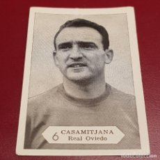 Cromos de Fútbol: GRAFICAS NILO - FOTO FUTBOL CAMPEONATO 1958 1959 - 58 59 - OVIEDO - CASAMITJANA 6 - NUNCA PEGADO. Lote 254801375