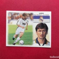 Cromos de Fútbol: EDICIONES ESTE LIGA 99 00 1999 2000 CROMO NUNCA PEGADO BAJA REAL MADRID , JARNI. Lote 254801390