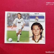 Cromos de Fútbol: CROMO DE FUTBOL EDICIONES ESTE LIGA 99 00 1999 2000 COLOCA BALIC REAL MADRID NUNCA PEGADO. Lote 254801540