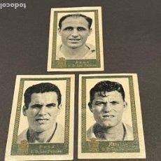Cromos de Fútbol: LOTE DE 3 CROMOS DE FUTBOL DE LA UNION DEPORTIVA LAS PALMAS. Lote 254811685