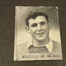 Cromos de Fútbol: CROMO DE FUTBOL - CARMELO DEL ATLETICO DE BILBAO. Lote 254817240