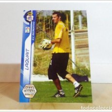 Cartes à collectionner de Football: MEGACRACKS 2006 2007 06 07 PANINI LAQUAIT 254 BIS FICHAJE (RECREATIVO HUELVA) ALBUM LIGA FÚTBOL MGK. Lote 254826675