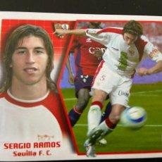 Cromos de Fútbol: SERGIO RAMOS 2005 2006 NUEVO. Lote 254966525