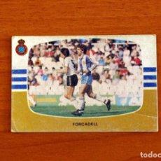 Cromos de Fútbol: R.C.D. ESPAÑOL, ESPANYOL - FORCADELL - CROMOS CANO - LIGA 1984-1985, 84-85 - NUNCA PEGADO. Lote 254973170