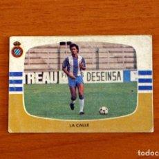 Cromos de Fútbol: R.C.D. ESPAÑOL, ESPANYOL - LA CALLE - CROMOS CANO - LIGA 1984-1985, 84-85 - NUNCA PEGADO. Lote 254973325