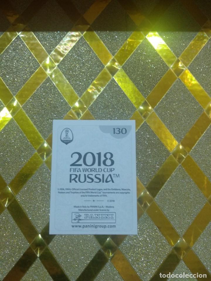 Cromos de Fútbol: CROMO DE FUTBOL CRISTIANO RONALDO NUMERO 130 MUNDIAL DE RUSSIA 2018 FIFA WORLD CUP * - Foto 2 - 255000600