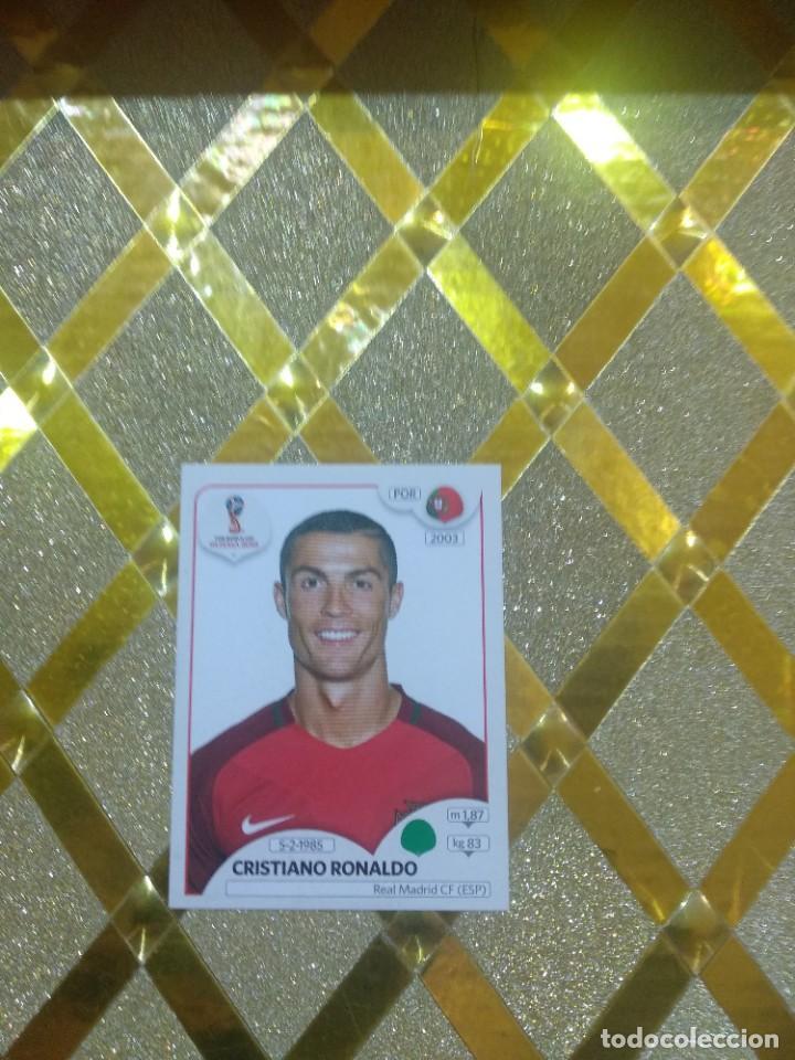 CROMO DE FUTBOL CRISTIANO RONALDO NUMERO 130 MUNDIAL DE RUSSIA 2018 FIFA WORLD CUP * (Coleccionismo Deportivo - Álbumes y Cromos de Deportes - Cromos de Fútbol)