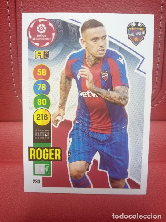 Nº 233 ROGER LEVANTE ADRENALYN XL 2020 2021 CARDS PANINI 20 21 (Coleccionismo Deportivo - Álbumes y Cromos de Deportes - Cromos de Fútbol)