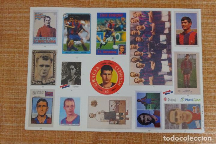 LÁMINA 26 L'ALBUM DEL BARÇA (Coleccionismo Deportivo - Álbumes y Cromos de Deportes - Cromos de Fútbol)