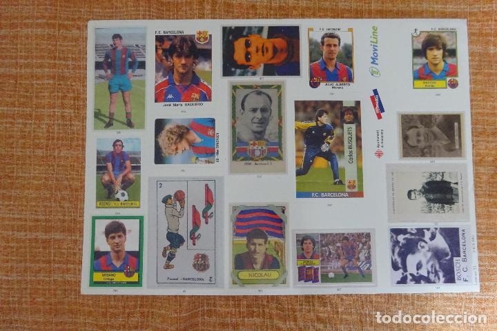 LÁMINA 31 L'ALBUM DEL BARÇA (Coleccionismo Deportivo - Álbumes y Cromos de Deportes - Cromos de Fútbol)