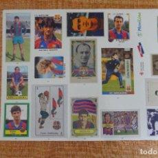 Cromos de Fútbol: LÁMINA 31 L'ALBUM DEL BARÇA. Lote 255010190
