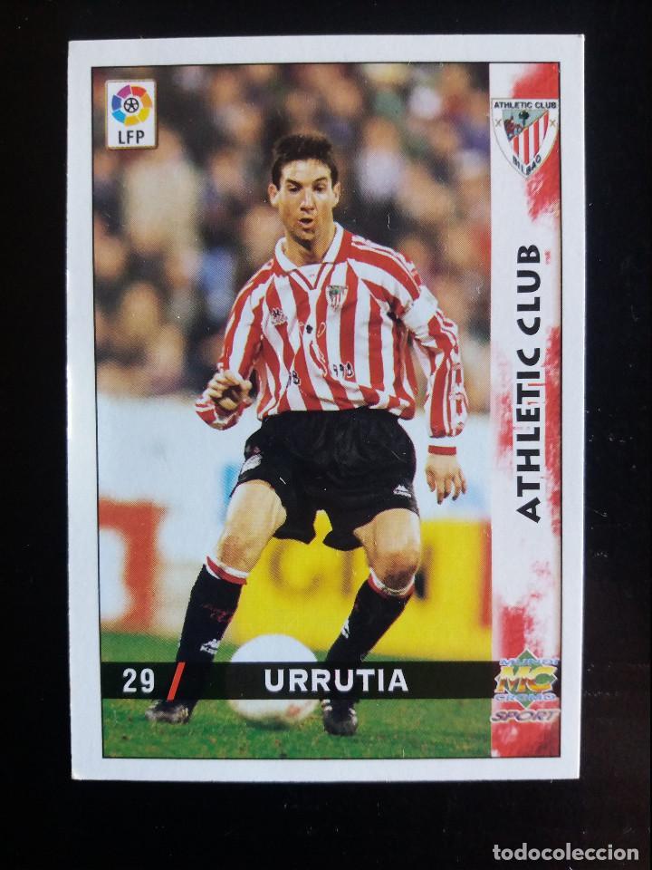 29 URRUTIA - ATHLETIC CLUB - MUNDICROMO 98/99 (Coleccionismo Deportivo - Álbumes y Cromos de Deportes - Cromos de Fútbol)