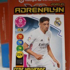 Cromos de Fútbol: Nº 245 VALVERDE REAL MADRID ADRENALYN XL 2020 2021 CARDS PANINI 20 21. Lote 255010795