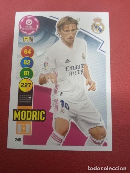 Nº 246 MODRIC REAL MADRID ADRENALYN XL 2020 2021 CARDS PANINI 20 21 (Coleccionismo Deportivo - Álbumes y Cromos de Deportes - Cromos de Fútbol)