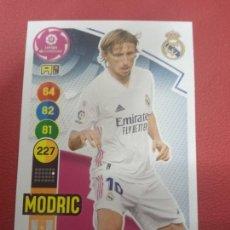 Cromos de Fútbol: Nº 246 MODRIC REAL MADRID ADRENALYN XL 2020 2021 CARDS PANINI 20 21. Lote 255010910