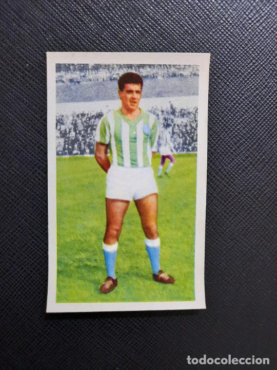 PEPIN REAL BETIS FERCA 1960 1961 CROMO FUTBOL LIGA 60 61 - - A28 PG514 (Coleccionismo Deportivo - Álbumes y Cromos de Deportes - Cromos de Fútbol)