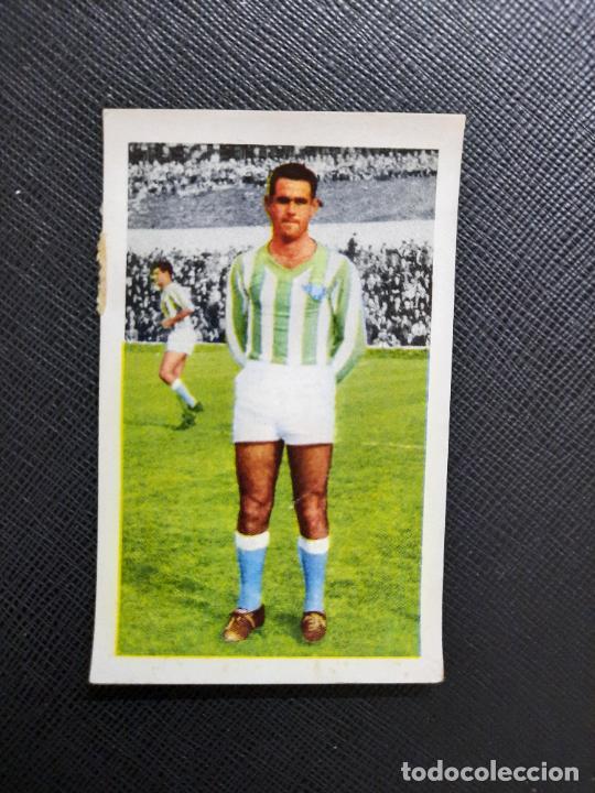SANTOS REAL BETIS FERCA 1960 1961 CROMO FUTBOL LIGA 60 61 - - A28 PG514 (Coleccionismo Deportivo - Álbumes y Cromos de Deportes - Cromos de Fútbol)