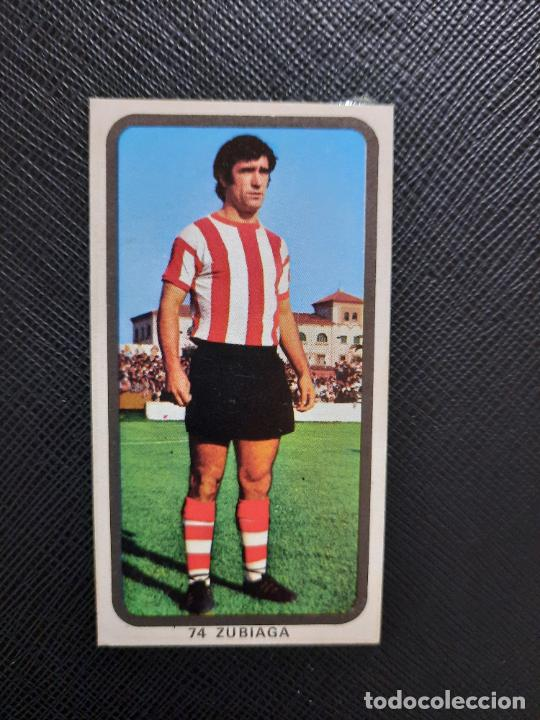 ZUBIAGA BILBAO RUIZ ROMERO 1974 1975 CROMO FUTBOL LIGA 74 75 DESPEGADO - A31 - PG199 74 (Coleccionismo Deportivo - Álbumes y Cromos de Deportes - Cromos de Fútbol)