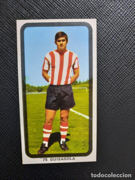 GUISASOLA BILBAO RUIZ ROMERO 1974 1975 CROMO FUTBOL LIGA 74 75 DESPEGADO - A31 - PG208 75 (Coleccionismo Deportivo - Álbumes y Cromos de Deportes - Cromos de Fútbol)
