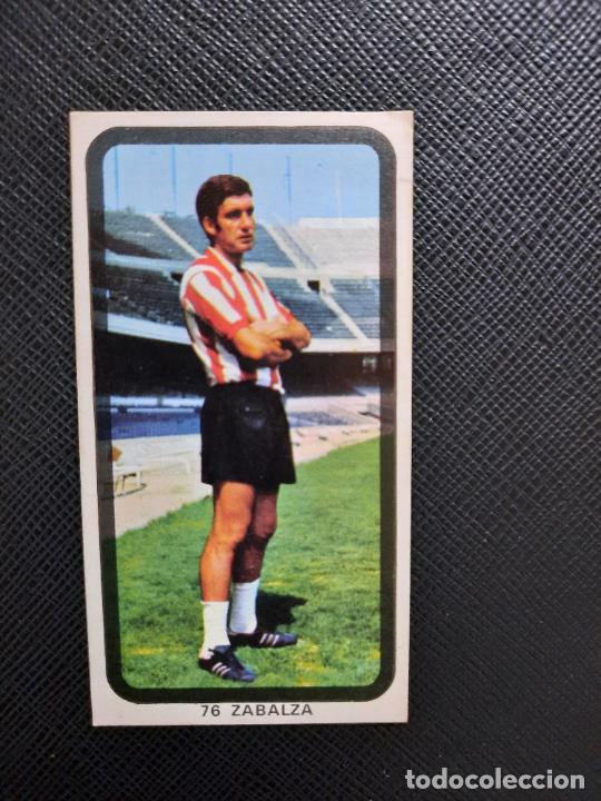 ZABALZA BILBAO RUIZ ROMERO 1974 1975 CROMO FUTBOL LIGA 74 75 DESPEGADO - A31 - PG208 76 (Coleccionismo Deportivo - Álbumes y Cromos de Deportes - Cromos de Fútbol)
