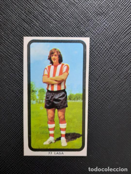 LASA BILBAO RUIZ ROMERO 1974 1975 CROMO FUTBOL LIGA 74 75 DESPEGADO - A31 - PG208 77 (Coleccionismo Deportivo - Álbumes y Cromos de Deportes - Cromos de Fútbol)