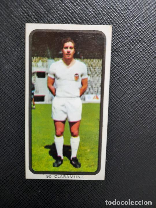 CLARAMUNT VALENCIA RUIZ ROMERO 1974 1975 CROMO FUTBOL LIGA 74 75 DESPEGADO - A31 - PG208 90 (Coleccionismo Deportivo - Álbumes y Cromos de Deportes - Cromos de Fútbol)