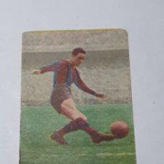 Cromos de Fútbol: CROMO DE FUTBOL SUAREZ BARCELONA C. F. N.10 ALBUM FUTBOL Y ASES EN ACCION EXCLUSIVAS TRIUNFO. Lote 255464830
