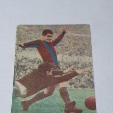 Cromos de Fútbol: CROMO DE FUTBOL MARTINEZ BARCELONA C. F. N. 9 ALBUM FUTBOL Y ASES EN ACCION EXCLUSIVAS TRIUNFO-FHER. Lote 255466730