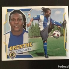 Cromos de Fútbol: ESTE 2010 2011 10 11 DRENTHE HÉRCULES FICHAJE 60 NUNCA PEGADO DE SOBRE. Lote 255596190