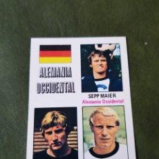 Cromos de Fútbol: CROMO ANTIGUO ALEMANIA OCCIDENTAL - MUNICH 74. Lote 255598475