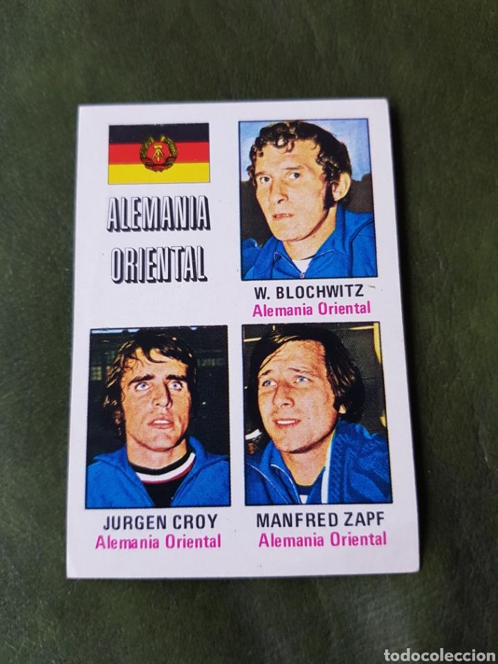 CROMO ANTIGUO ALEMANIA OCCIDENTAL - MUNICH 74 (Coleccionismo Deportivo - Álbumes y Cromos de Deportes - Cromos de Fútbol)