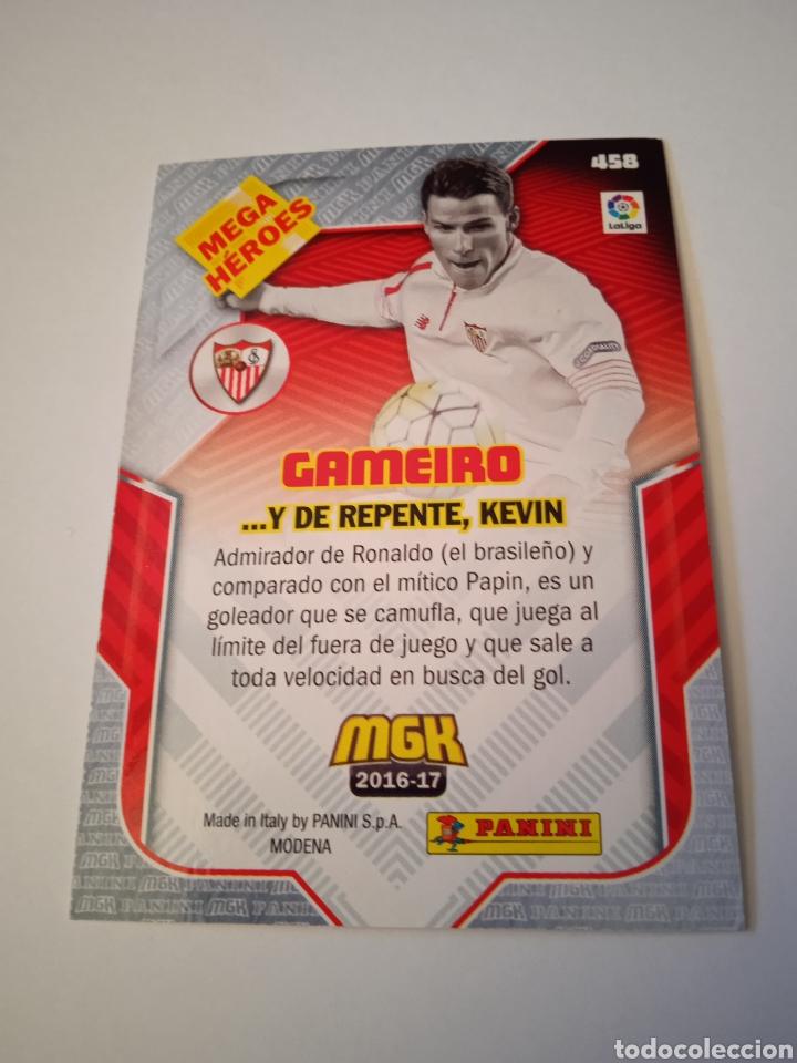 Cromos de Fútbol: Cromo de Gameiro MEGACRACKS 16-17 - Foto 3 - 255599990