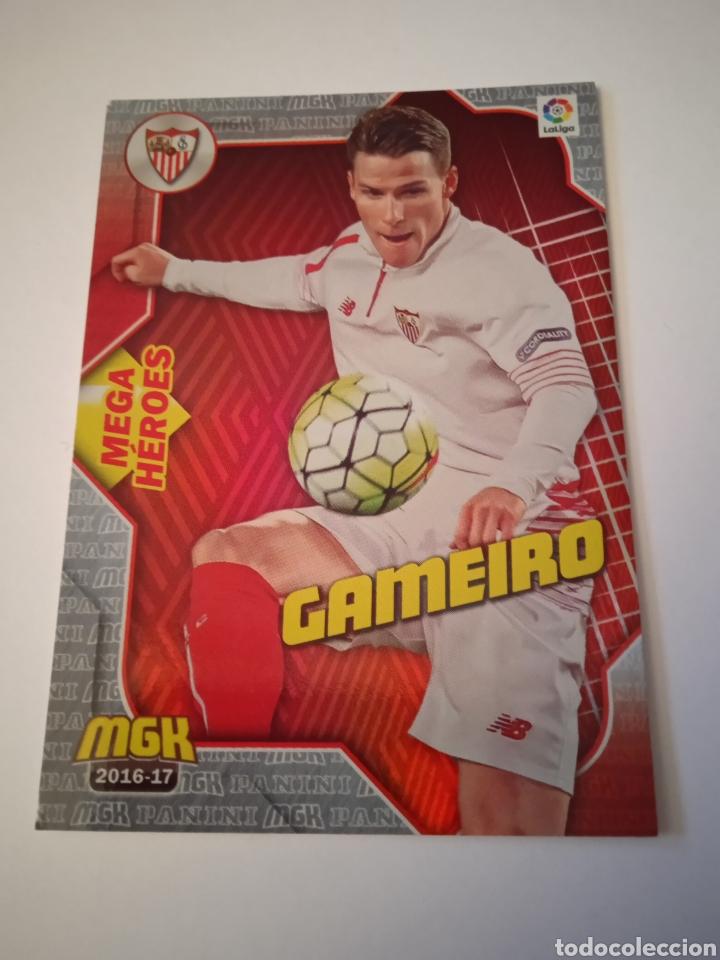 CROMO DE GAMEIRO MEGACRACKS 16-17 (Coleccionismo Deportivo - Álbumes y Cromos de Deportes - Cromos de Fútbol)