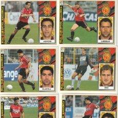 Cromos de Fútbol: 7 CROMOS DIFERENTES Y NUEVOS DEL MALLORCA. .LISTA. 1997 1998 EDICIONES ESTE. NUEVO. 97 98. Lote 255600365