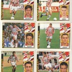 Cromos de Fútbol: 6 CROMOS DIFERENTES Y NUEVOS SPORTING DE GIJON. .LISTA. 1997 1998 EDICIONES ESTE. NUEVO. 97 98. Lote 255602495
