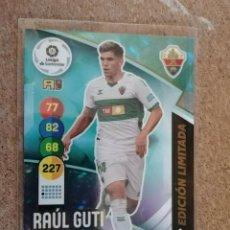 Cromos de Fútbol: PANINI ADRENALYN XL 20/21 CARD ROOKIE EDICION LIMITADA RAUL GUTI NUEVO DE SOBRE. Lote 255923520