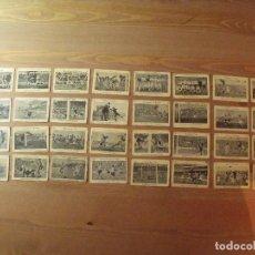 Cromos de Fútbol: KROMEL LIGA 1951 LOTE 32 CROMOS PONGO FOTOS DE TODOS FUTBOL. Lote 255924695