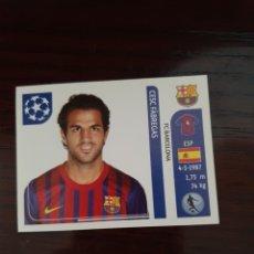 Cromos de Fútbol: CROMO PANINI, FABREGAS, CHAMPIONS LEAGUE. Lote 255926175