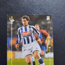 Cromos de Fútbol: DE PAULA REAL SOCIEDAD PANINI MEGAFICHAS 03 04 CROMO FUTBOL LIGA 2003 2004 - A32 - 287. Lote 256064175