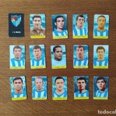 Cromos de Fútbol: MALAGA EQUIPO COMPLETO1968-69 M.RAMIREZ. Lote 256064610