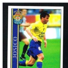 Cromos de Fútbol: FICHAS DE LA LIGA 2001 (2000-2001) - MUNDICROMO - Nª 372 JOSICO - NUEVO. Lote 256064635