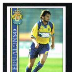 Cromos de Fútbol: FICHAS DE LA LIGA 2001 (2000-2001) - MUNDICROMO - Nª 373 EDU ALONSO - NUEVO. Lote 256064740