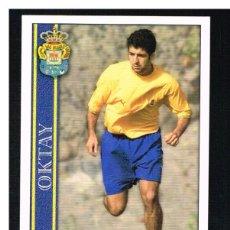 Cromos de Fútbol: FICHAS DE LA LIGA 2001 (2000-2001) - MUNDICROMO - Nª 375 OKTAY - NUEVO. Lote 256065020