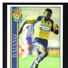 Cromos de Fútbol: FICHAS DE LA LIGA 2001 (2000-2001) - MUNDICROMO - Nª 376 BAIANO - NUEVO. Lote 256065250