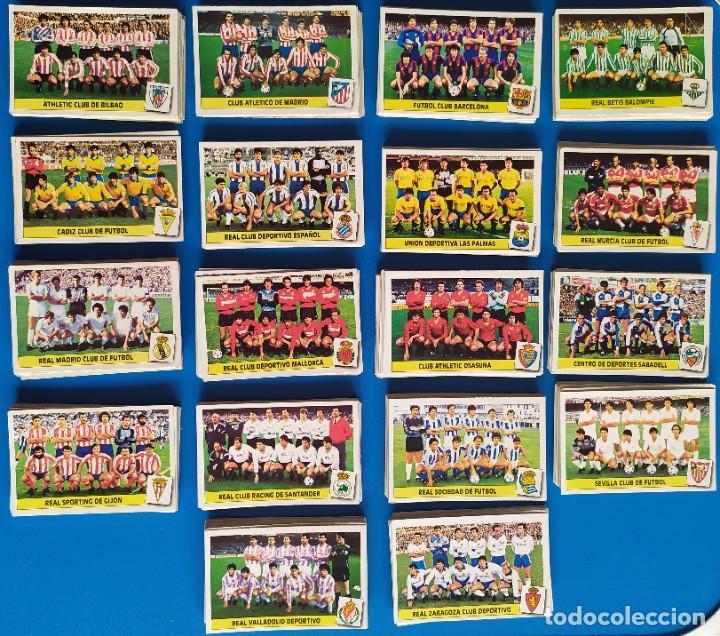 LIGA ESTE 1986 1987 / 86 87 LOTE DE 340 CROMOS DIFERENTES NUNCA PEGADOS (Coleccionismo Deportivo - Álbumes y Cromos de Deportes - Cromos de Fútbol)