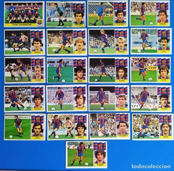 Cromos de Fútbol: Liga Este 1986 1987 / 86 87 Lote de 340 cromos diferentes nunca pegados - Foto 6 - 257319230