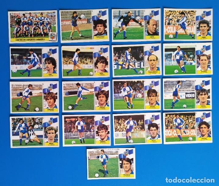 Cromos de Fútbol: Liga Este 1986 1987 / 86 87 Lote de 340 cromos diferentes nunca pegados - Foto 28 - 257319230